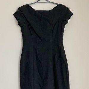 MOSCHINO Virgin Wool Knee-Length Dress
